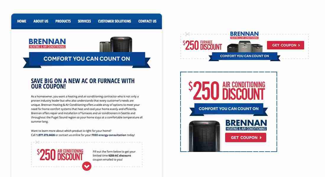 Brennan - Landing Page & Ads