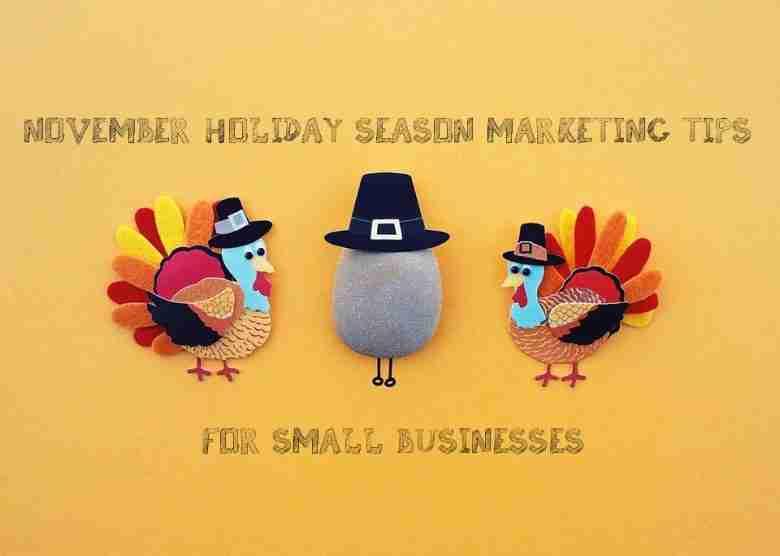 Marketing Tips for November
