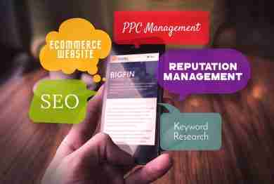 ECommerce, PPC Management, SEO, Keyword Research, and Reputation Management