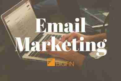 Email Marketing at Bigfin.com