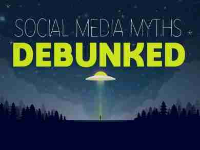 social media myths debunked